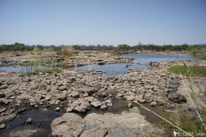 ビクトリアの滝(ザンビア)の景色