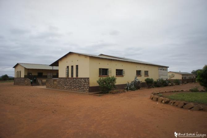 ザンビアの青年海外協力隊ショウダイさんの活動場所