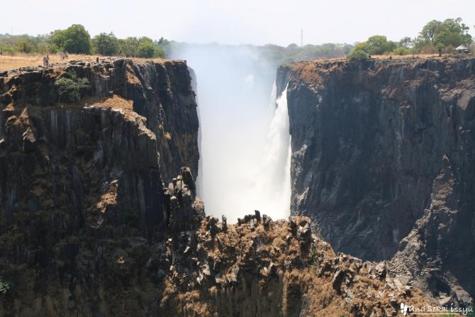 ビクトリアの滝(ザンビア)