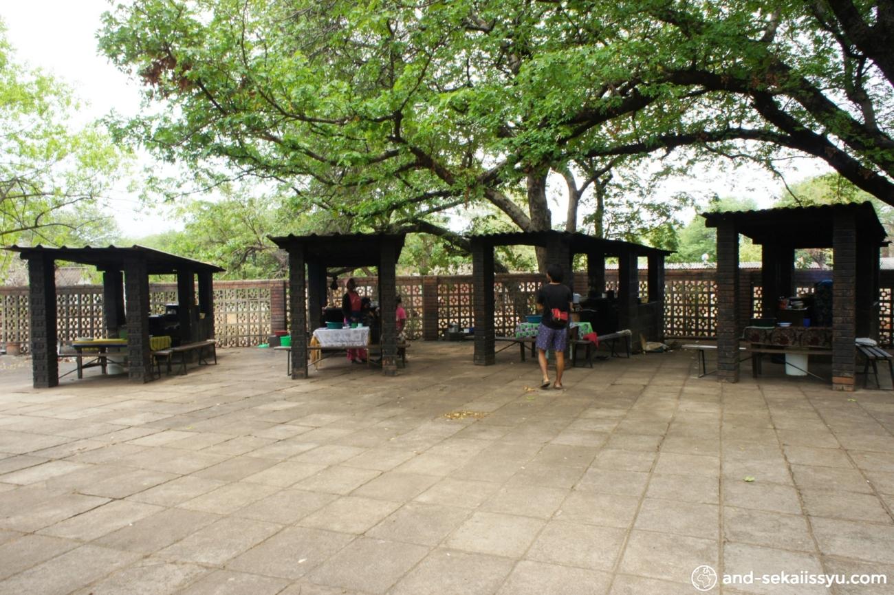 ジンバブエの屋台