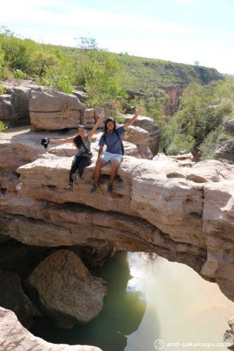 エル・ベルヘル(El Vergel)|ボリビアのグランドキャニオンで滝修行‼︎恐竜の足跡が予想以上にでかかった‼︎