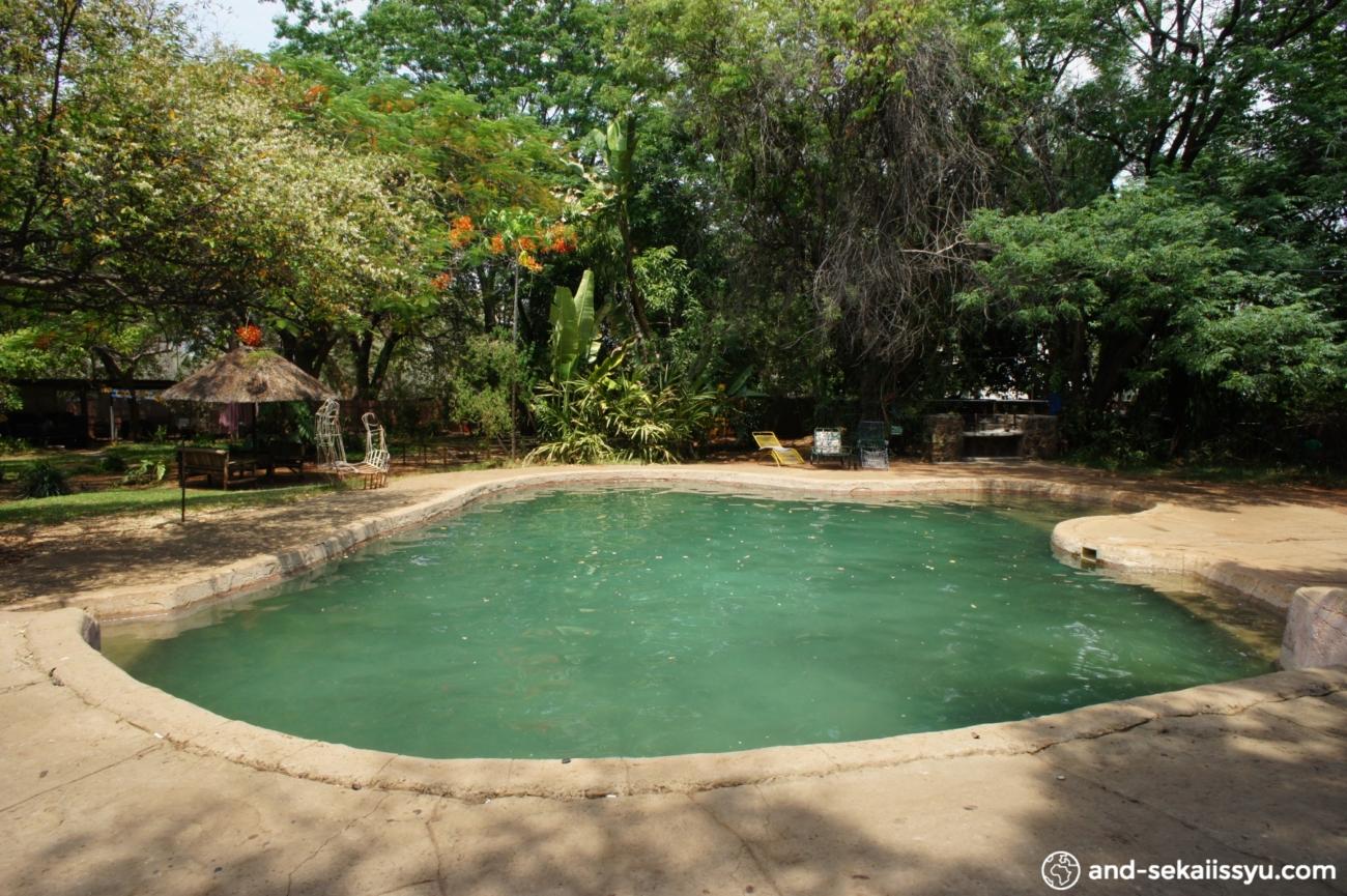 ジンバブエの宿(キャンプサイト)