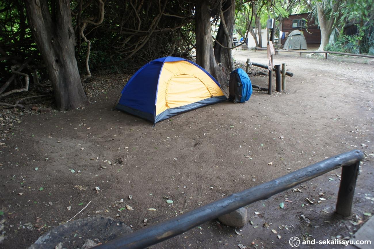カサネの宿(キャンプサイト)