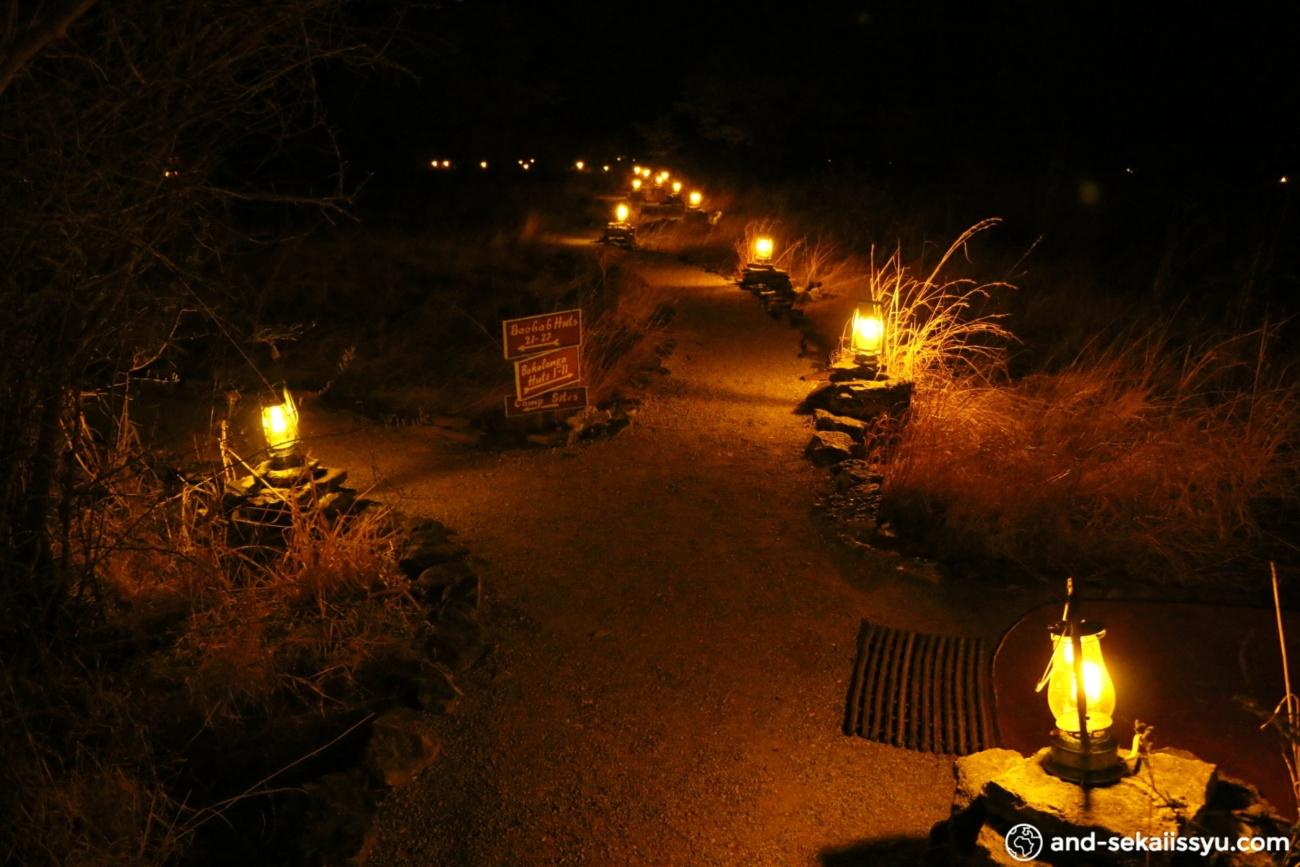 プラネットバオバブ「グウェタの宿(キャンプサイト)」