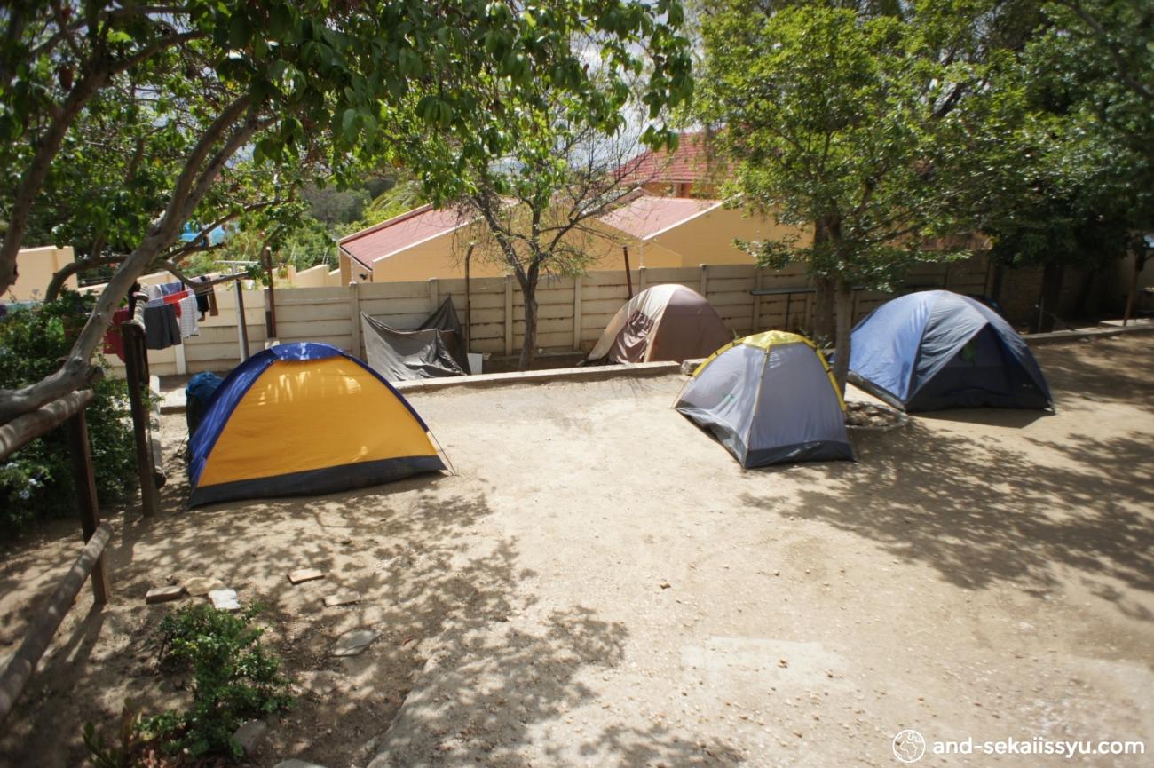 ウィントフックの宿(キャンプサイト)