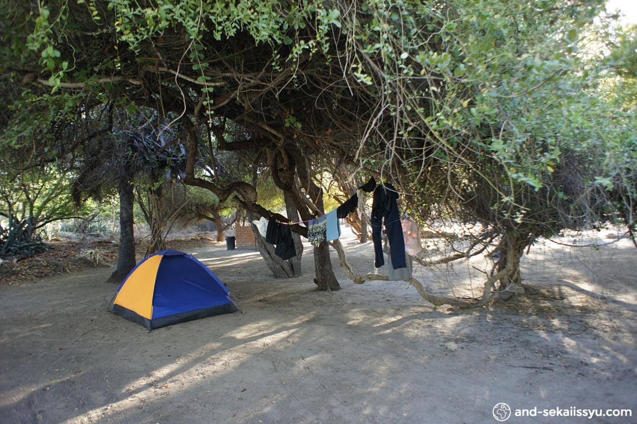 マウンの宿(キャンプサイト)