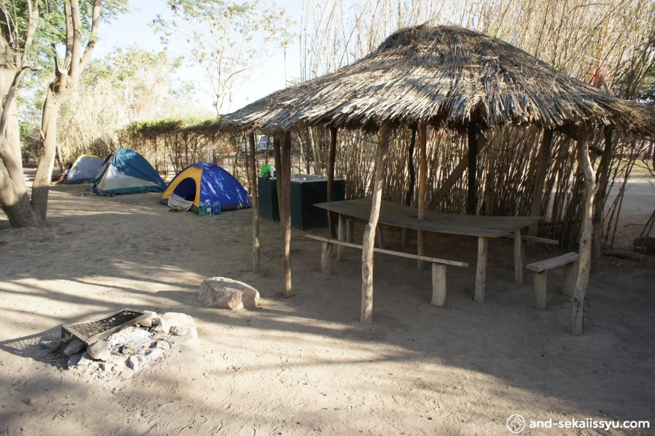 オプウォの宿(キャンプサイト)