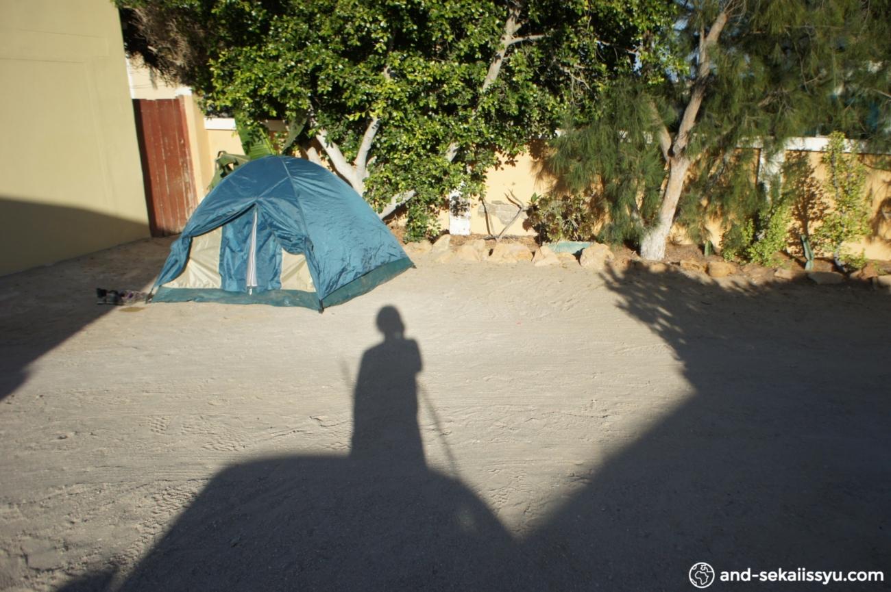 リューデリッツの宿(キャンプサイト)