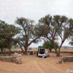 ナミビア|セスリムの宿(キャンプサイト)情報
