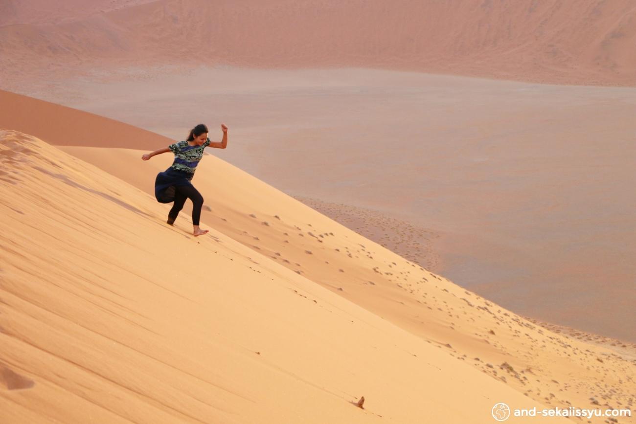 ナミブ砂漠のDune45