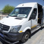 ボツワナからナミビアへ陸路で国境越え|マウンからウィントフックへバスとヒッチハイクで大移動!!