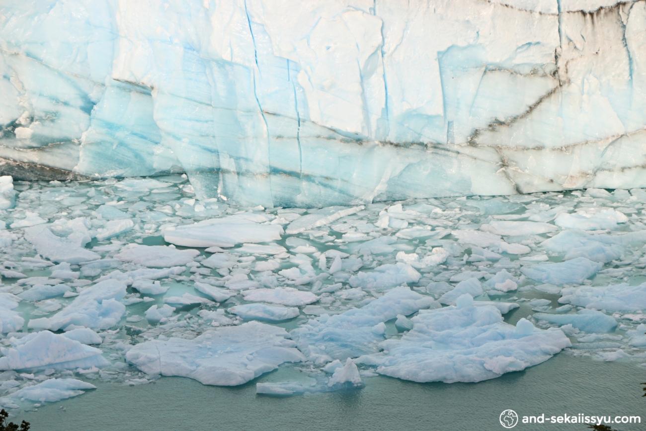 ペリトモレノ氷河のトレッキングツアー
