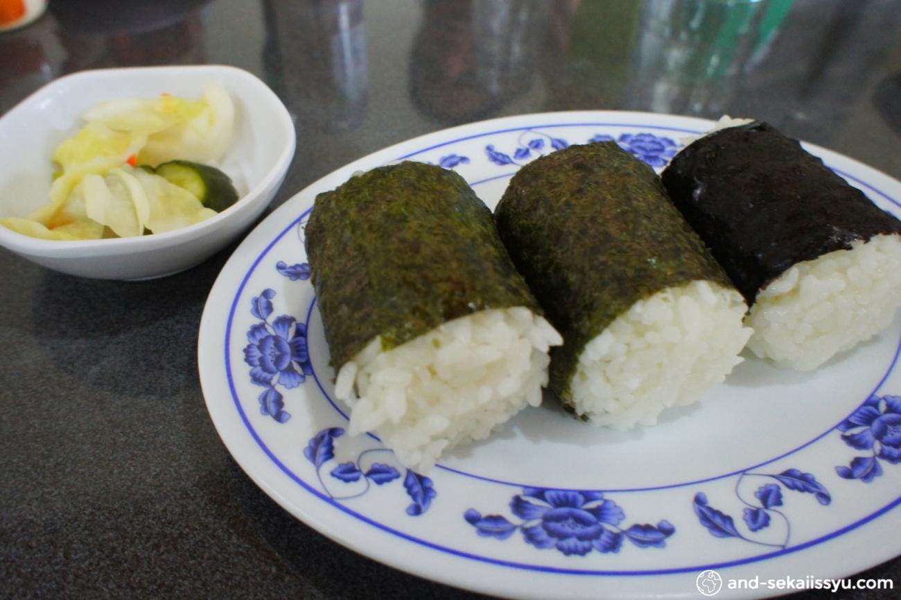 イグアス日本人居住区で日本食を食べ歩き