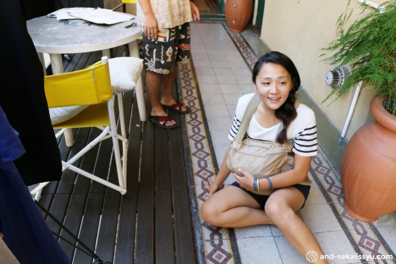ブエノスアイレスで妊婦体験