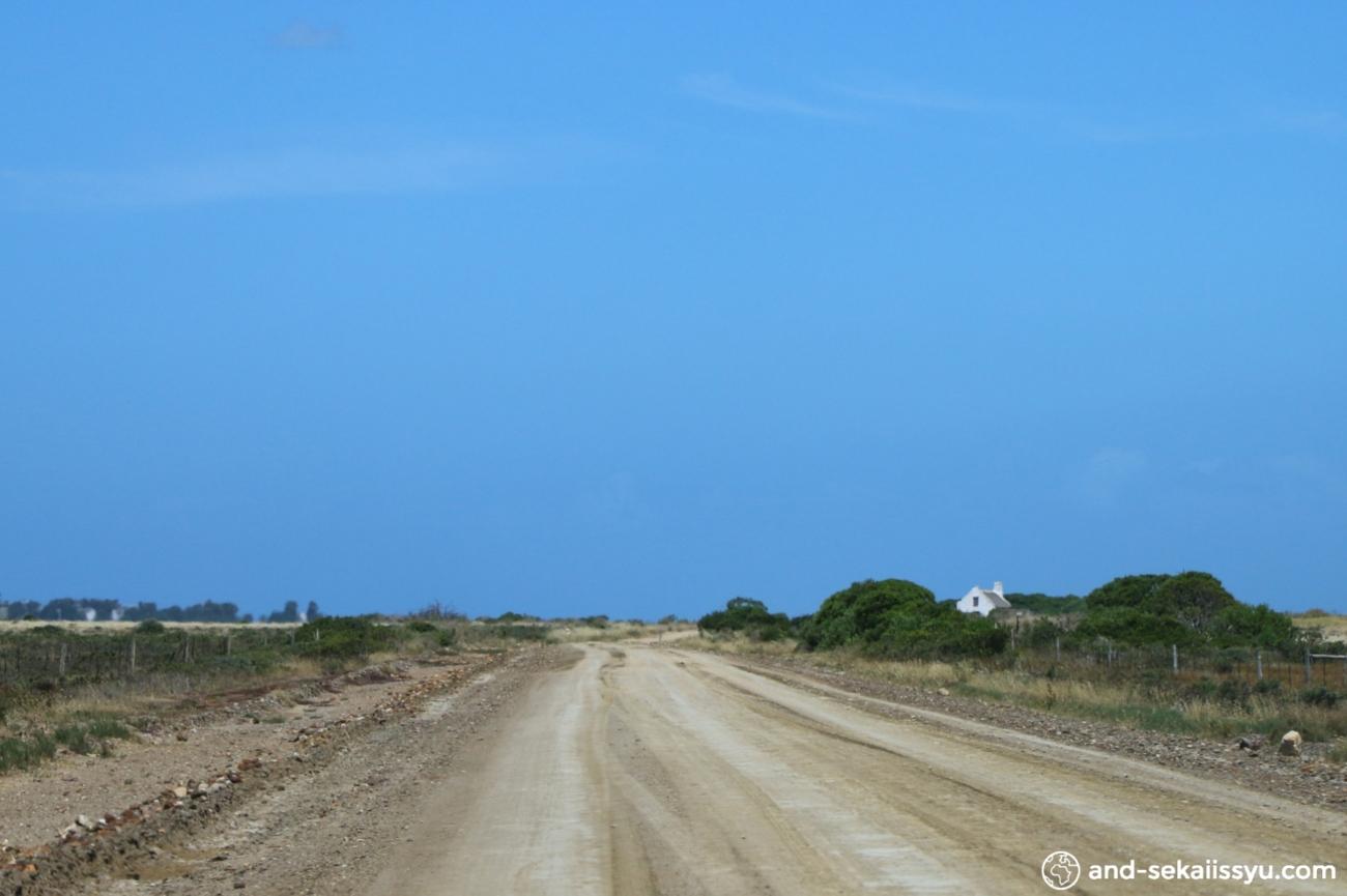 アグラス岬への道路
