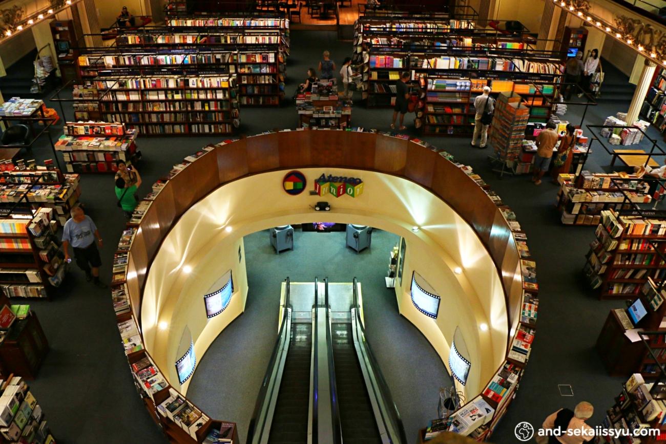 世界で2番目に美しい本屋El Ateneo|ブエノスアイレス