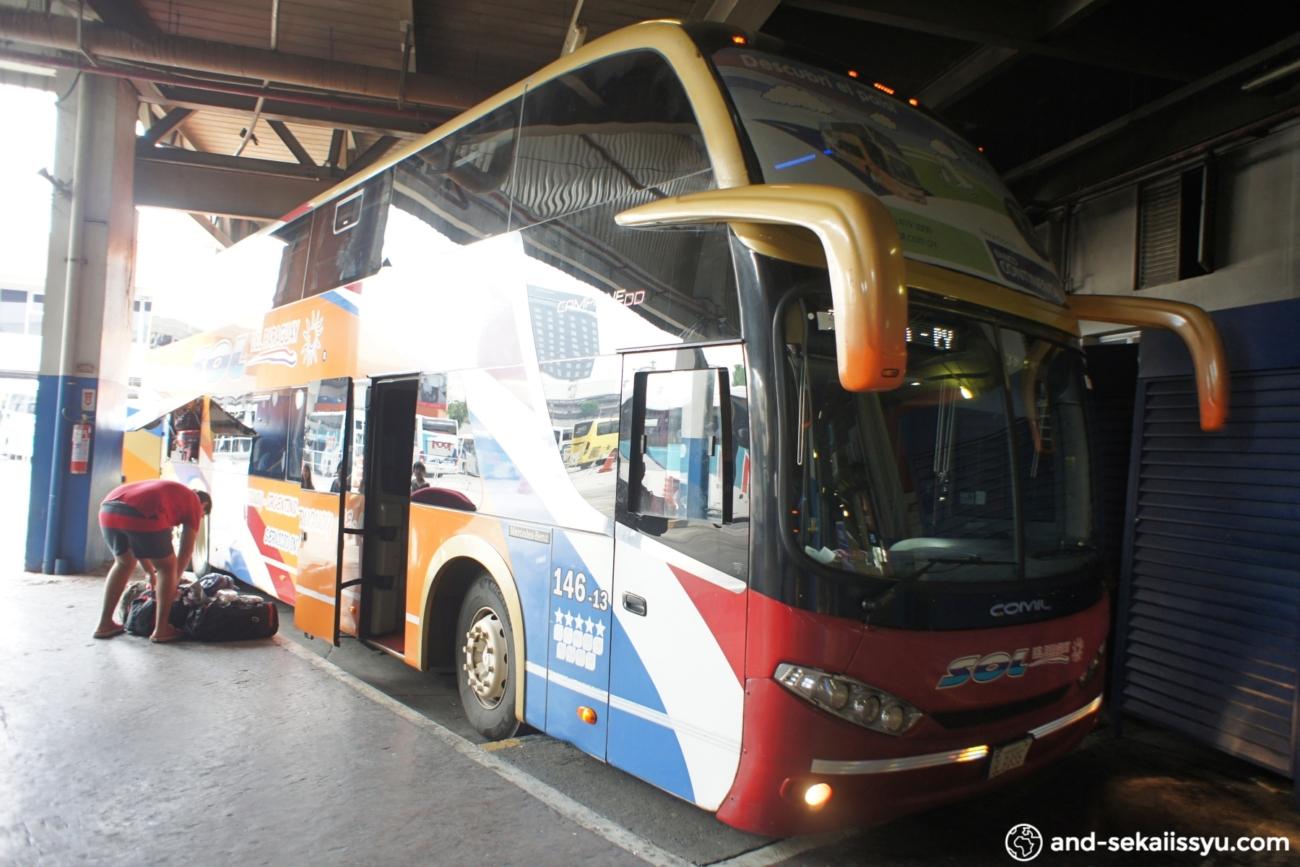 リオデジャネイロからシウダーデルエステへのバス