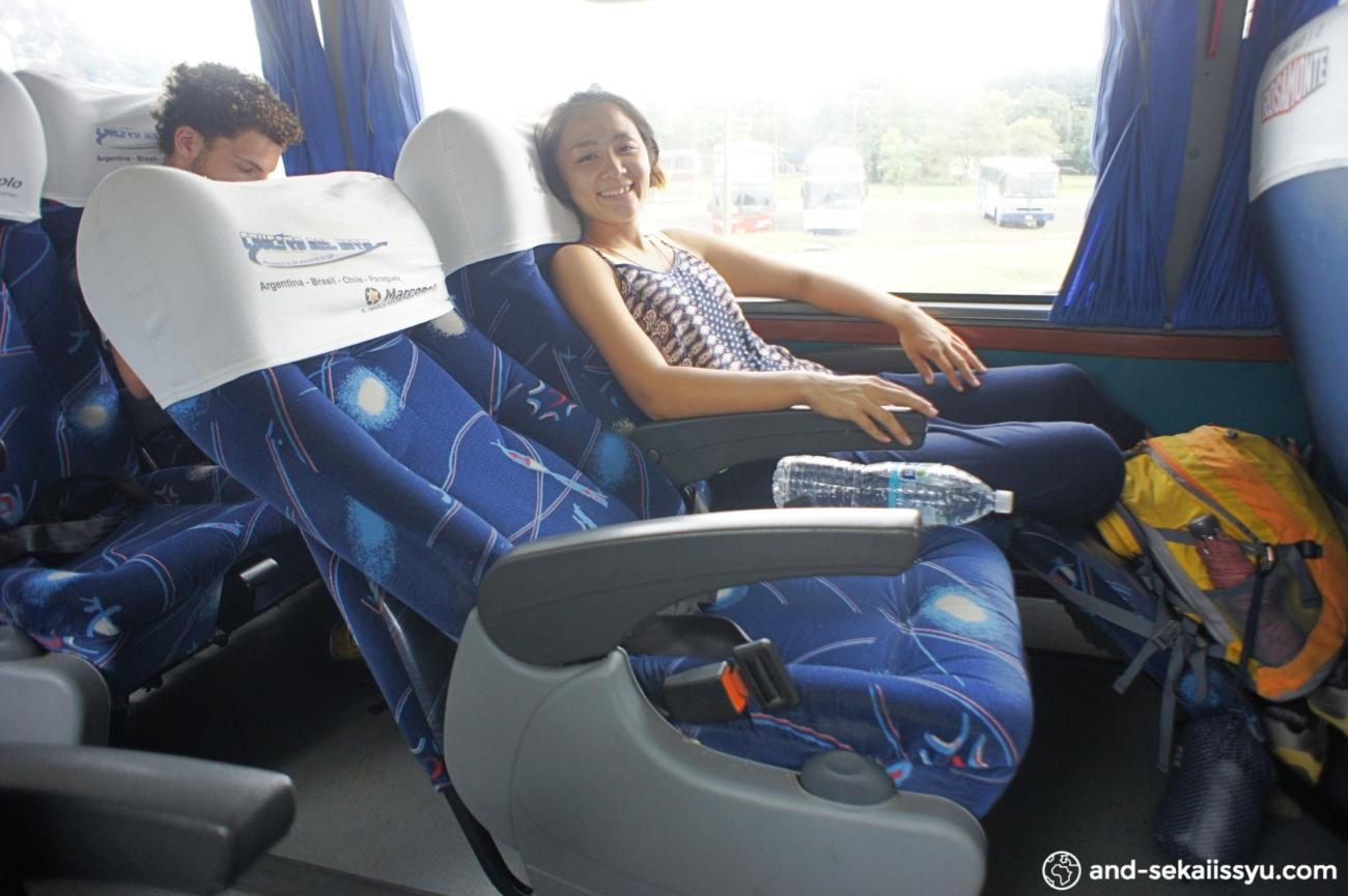 シウダーデルエステからブエノスアイレスへのバス