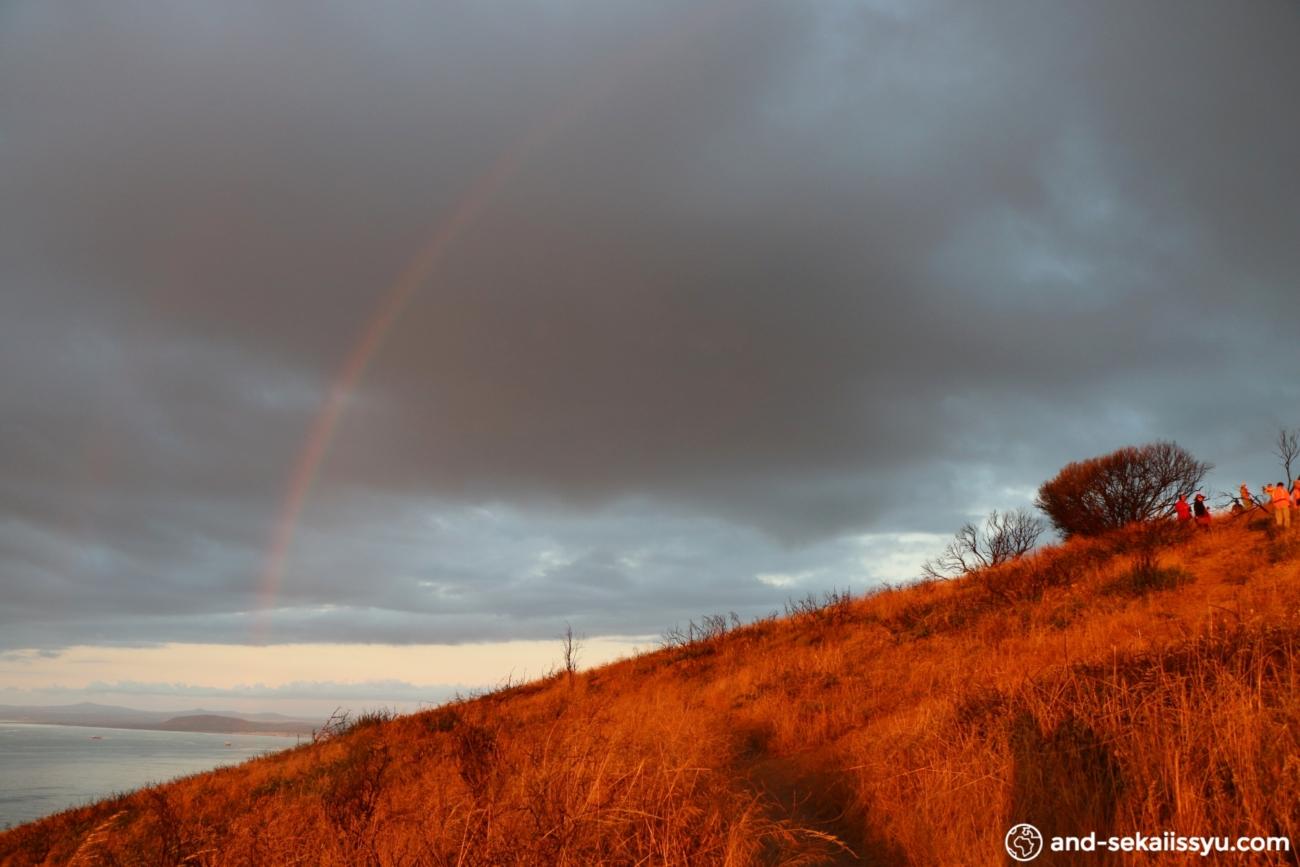 シグナルヒルから見た虹