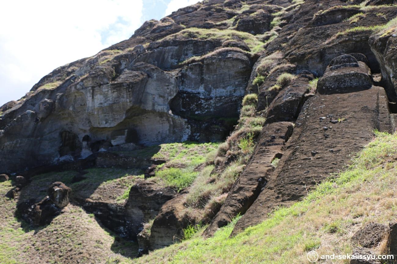 イースター島のラノラクク
