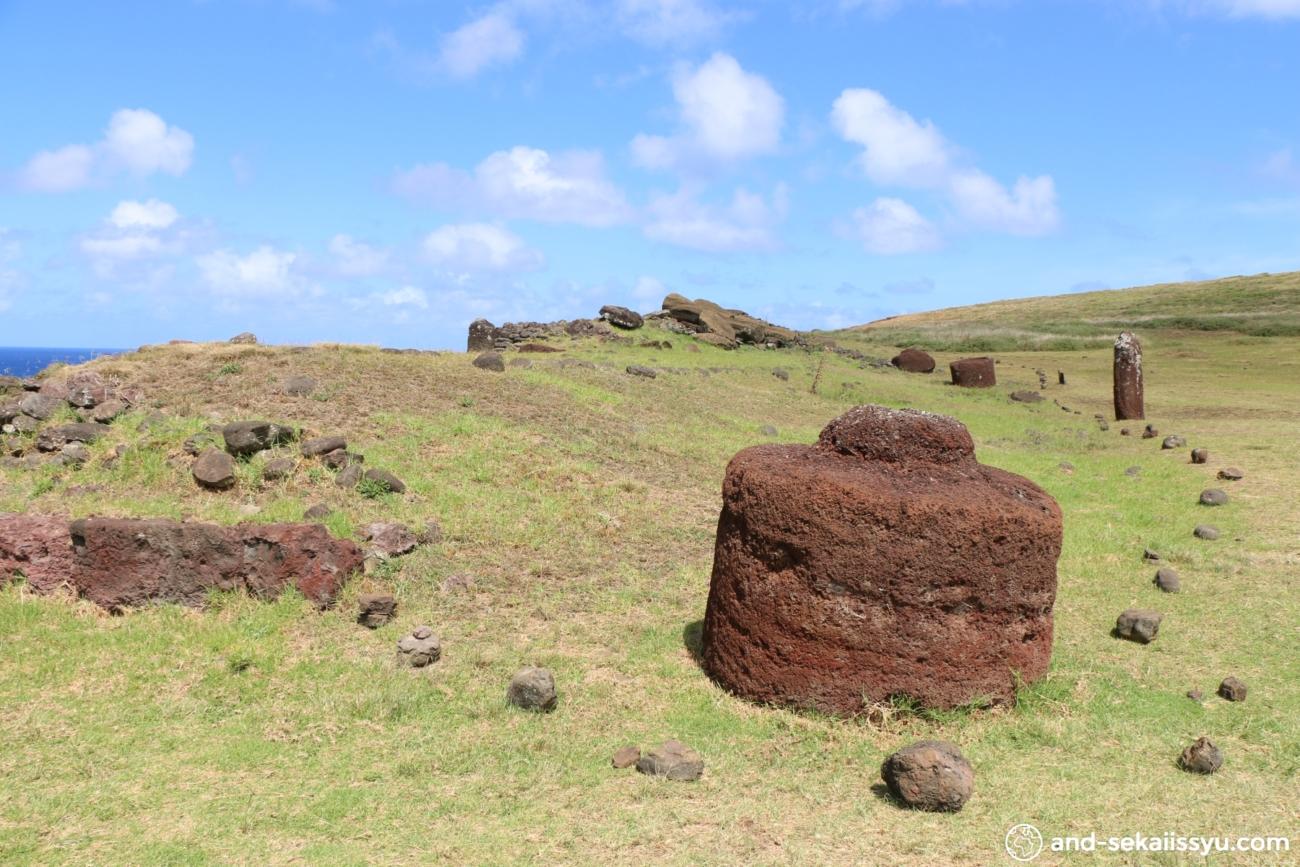 イースター島のアフビナプ