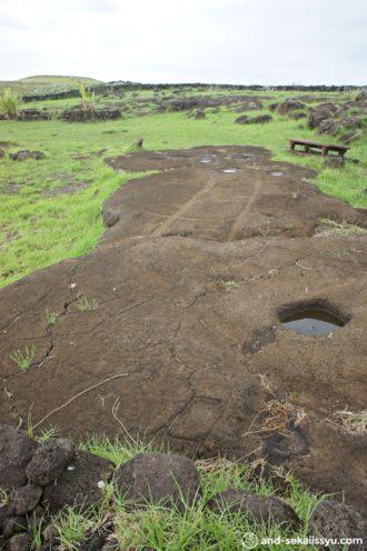 イースター島のパパバカ