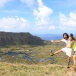 イースター島観光|ラノ・カウ火山の火口湖が絶景過ぎる!!【1/3】
