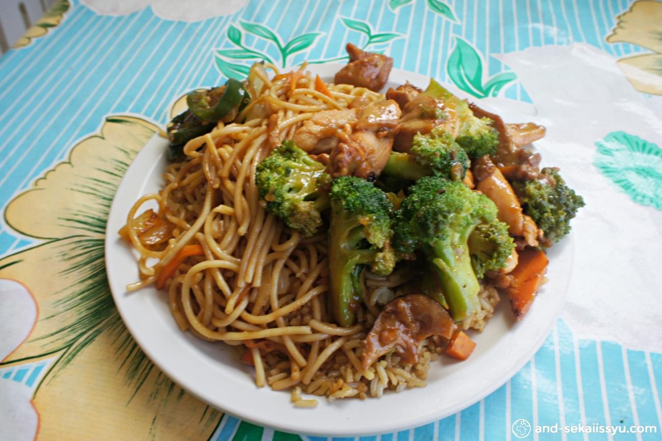 カンクンの中華料理