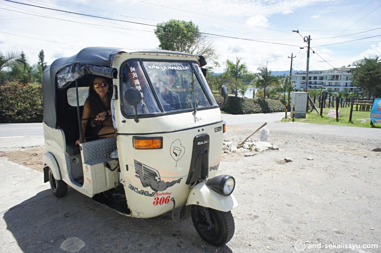 ラ・ピエドラ・デル・ペニョールからグアタペへ移動