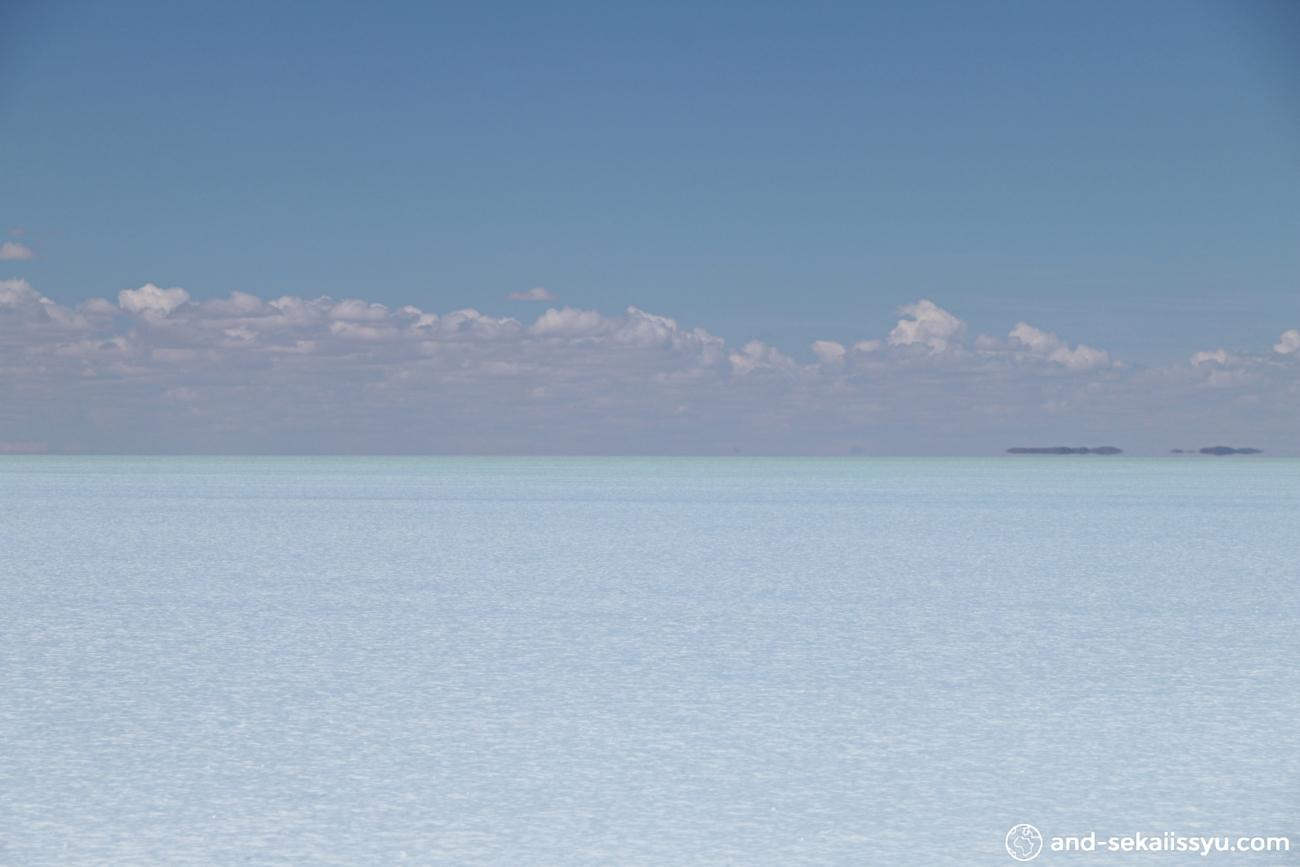 ウユニ塩湖のデイタイムツアー