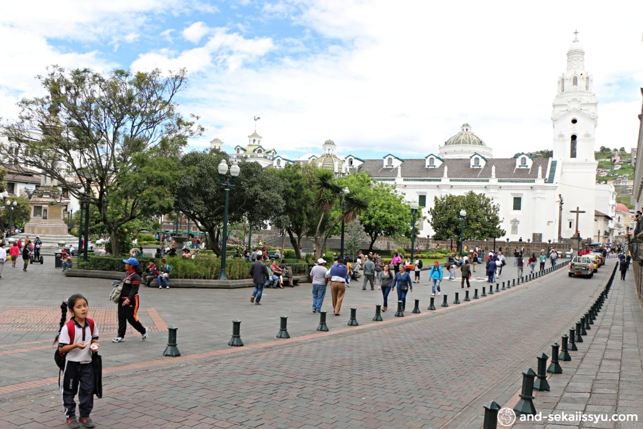 キトの独立広場