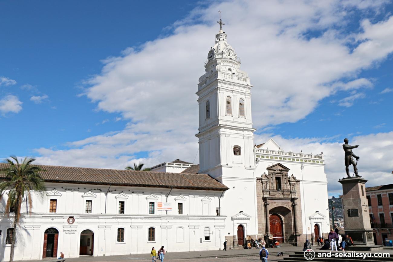 キトのサント・ドミンゴ教会