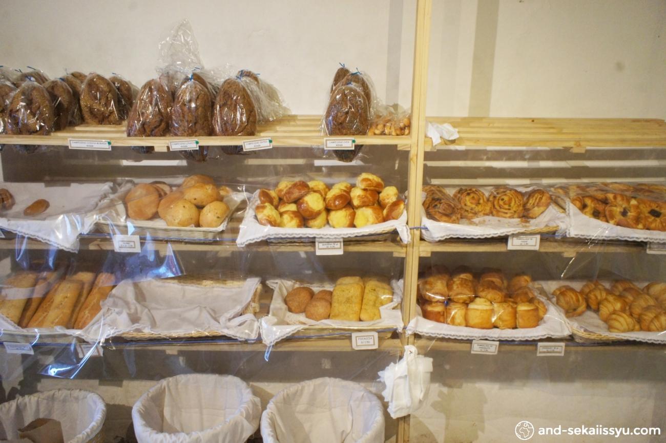 クスコのパン屋