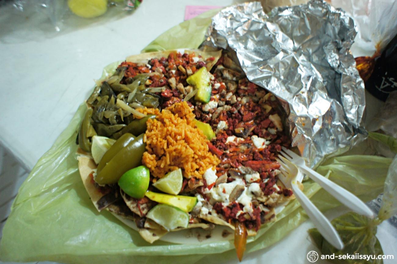 カンクンのメキシコ料理