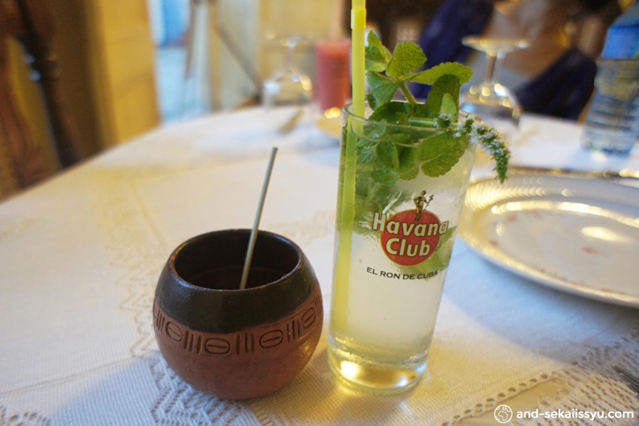 トリニダーのレストラン