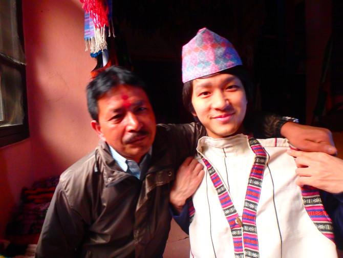 ネパール カトマンズ 帽子屋②