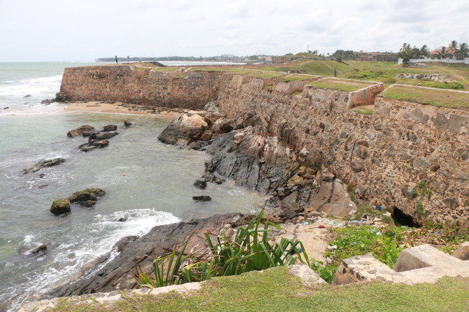 スリランカ ゴール 城壁