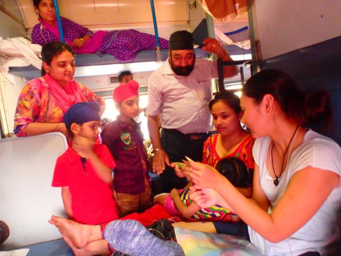インド アウランガーバード 折り紙講座