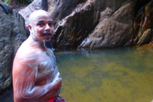 スリランカ ラトゥナプラ 滝⑤