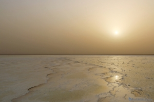 ダナキル アサレ湖 塩湖