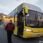 ウシュアイアからエルカラファテへバス移動|チリ入国の荷物検査は要注意!!