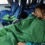 サンティアゴからサンペトロ・デ・アタカマにバス移動